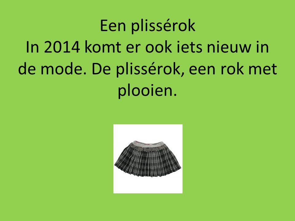 Een plissérok In 2014 komt er ook iets nieuw in de mode. De plissérok, een rok met plooien.