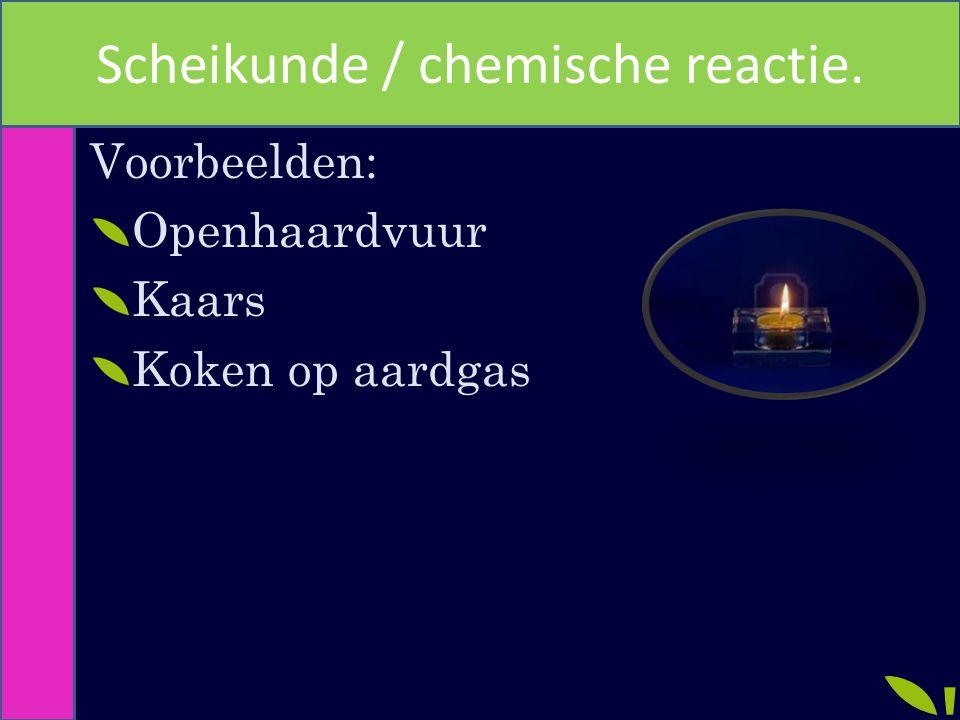 Voorbeelden: Openhaardvuur Kaars Koken op aardgas