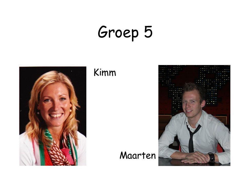 Groep 5 • Kimm Maarten