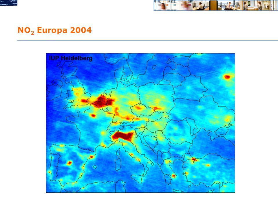 NO 2 Europa 2004