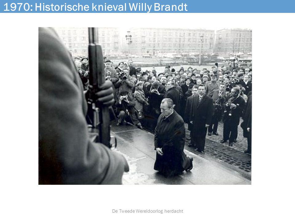 1970: Historische knieval Willy Brandt De Tweede Wereldoorlog herdacht