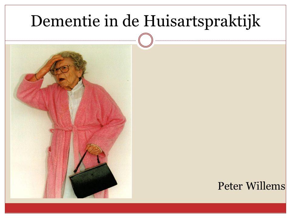 Dementie in de Huisartspraktijk Peter Willems