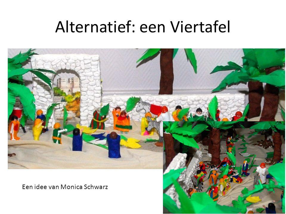 Alternatief: een Viertafel Een idee van Monica Schwarz