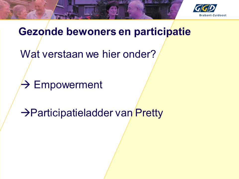 Participatieladder van Pretty