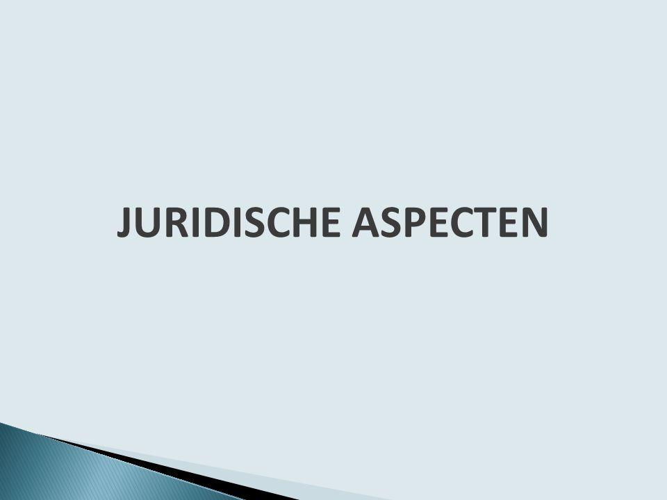 JURIDISCHE ASPECTEN