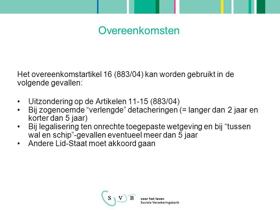 Overgangsrecht In Vo.883/04 is geregeld dat Vo.