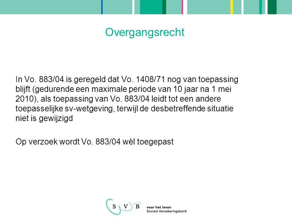 Casus 1 •Wonen: Nederland •Werkgevers: VU Amsterdam en Universiteit Leuven •Werken in buitenland: België (6 uur per maand) •Kwalificatie in buitenland: ambtenaar (in bijz.