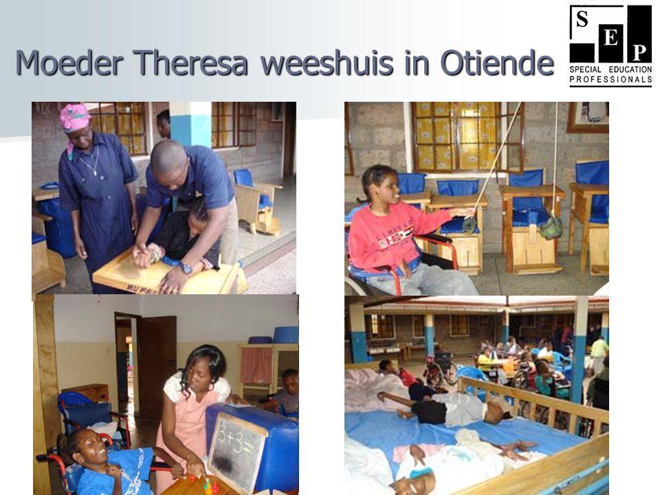 Moeder Theresa weeshuis in Otiende