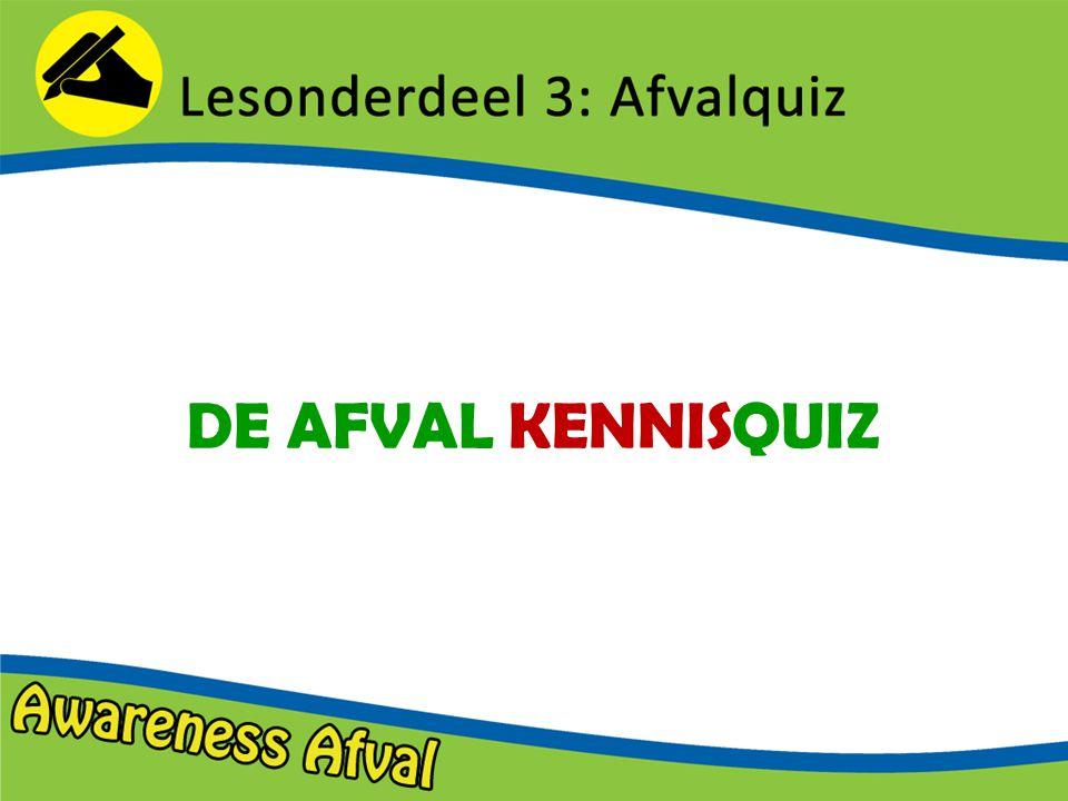 DE AFVAL KENNISQUIZ
