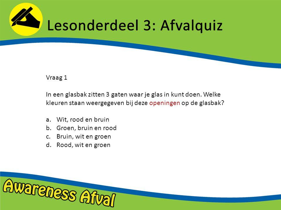 Vraag 2 Elsemiek heeft haar blikje drinken leeggedronken.