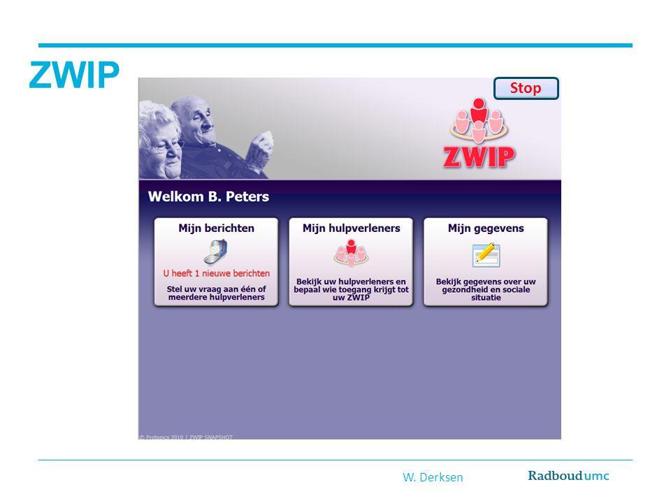 ZWIP W. Derksen Stop