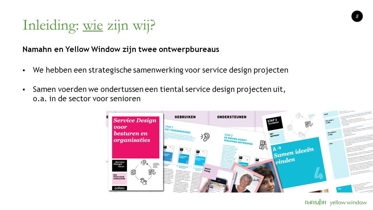 Inleiding: wat is service design.