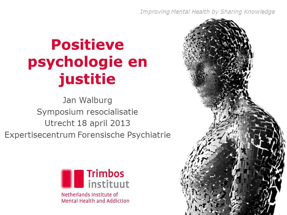 Gedetineerden psychisch ongezond • Prevalentie van psychische stoornissen onder gedetineerden beduidend hoger dan die in de algemene bevolking.