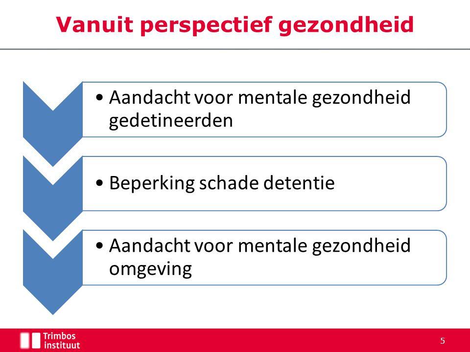 Vanuit perspectief recidive • Sancties hebben op hun best matig positieve invloed op recidive maar meer nog negatieve.