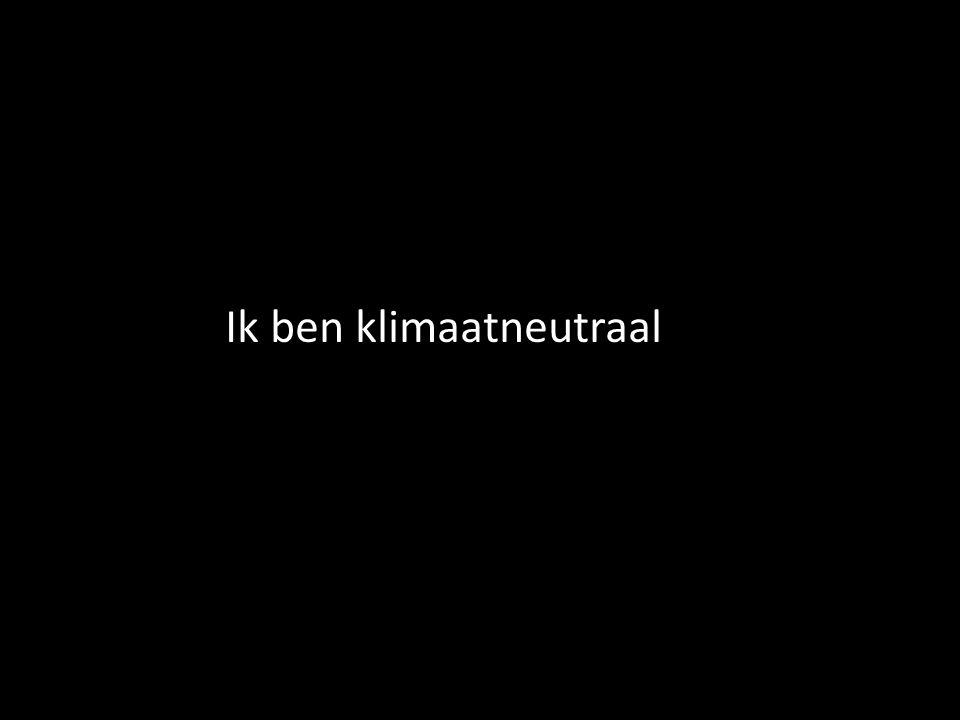 Ik ben klimaatneutraal