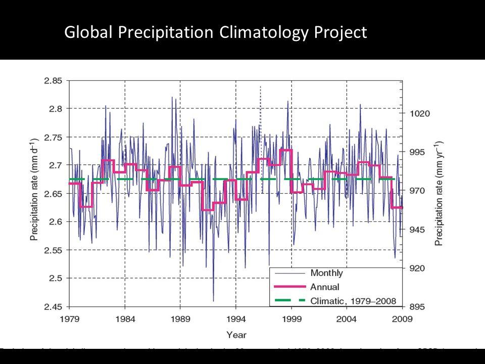 Global Precipitation Climatology Project