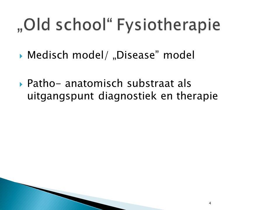"""4  Medisch model/ """"Disease"""" model  Patho- anatomisch substraat als uitgangspunt diagnostiek en therapie"""