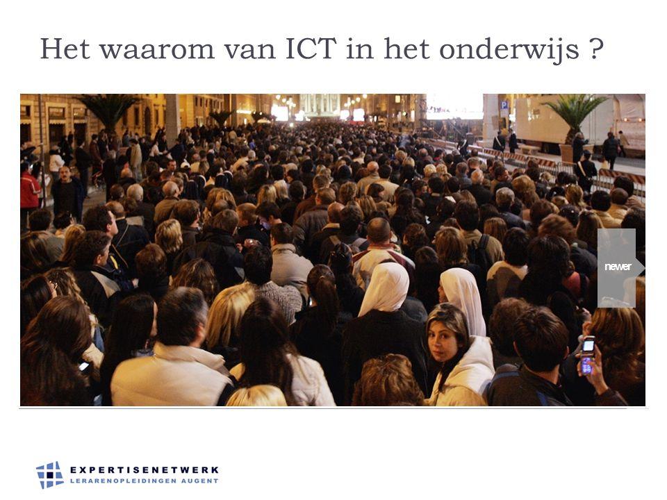 Het waarom van ICT in het onderwijs ?