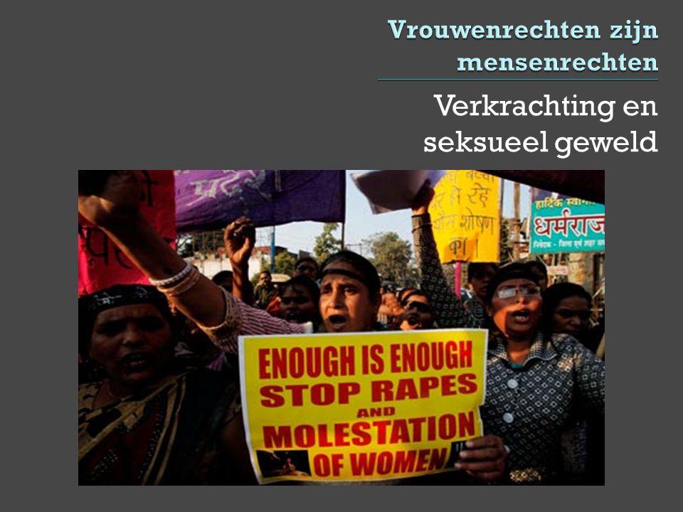 Verkrachting en seksueel geweld