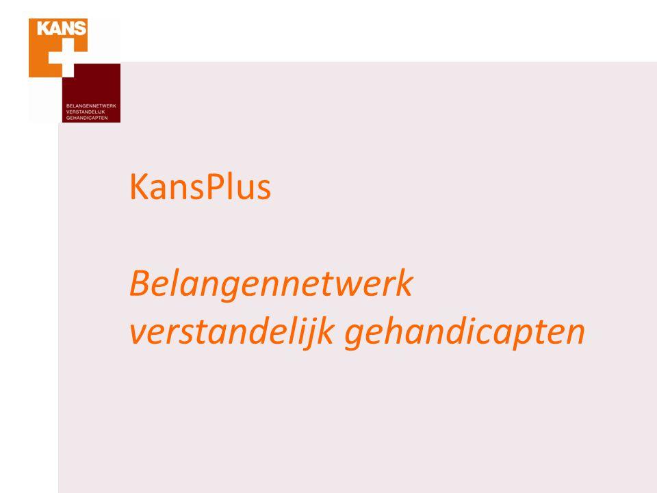 Wat vindt KansPlus in hoofdlijnen.