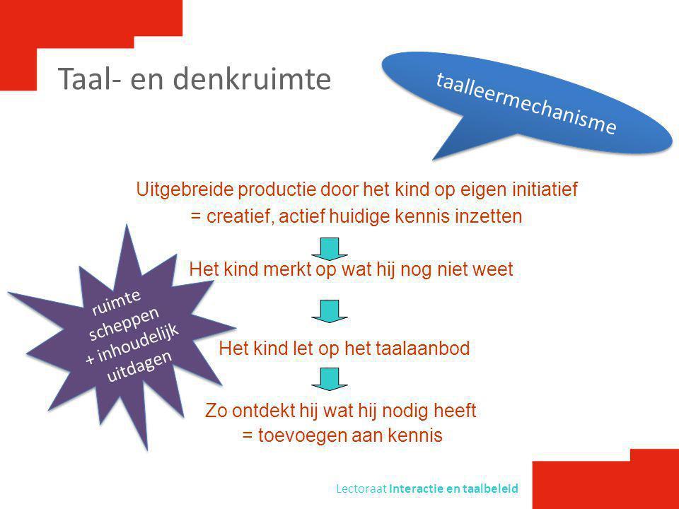 Lectoraat Interactie en taalbeleid De stille periode, hoe stil is die eigenlijk.