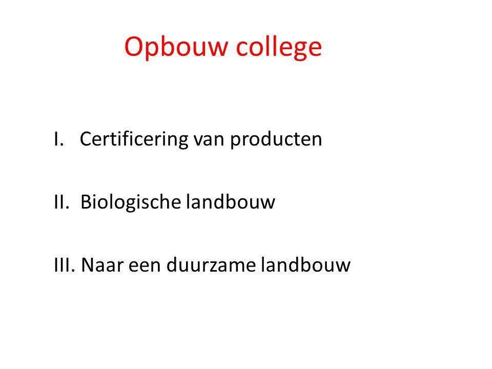 I.Certificering van producten • Wat is certificering.
