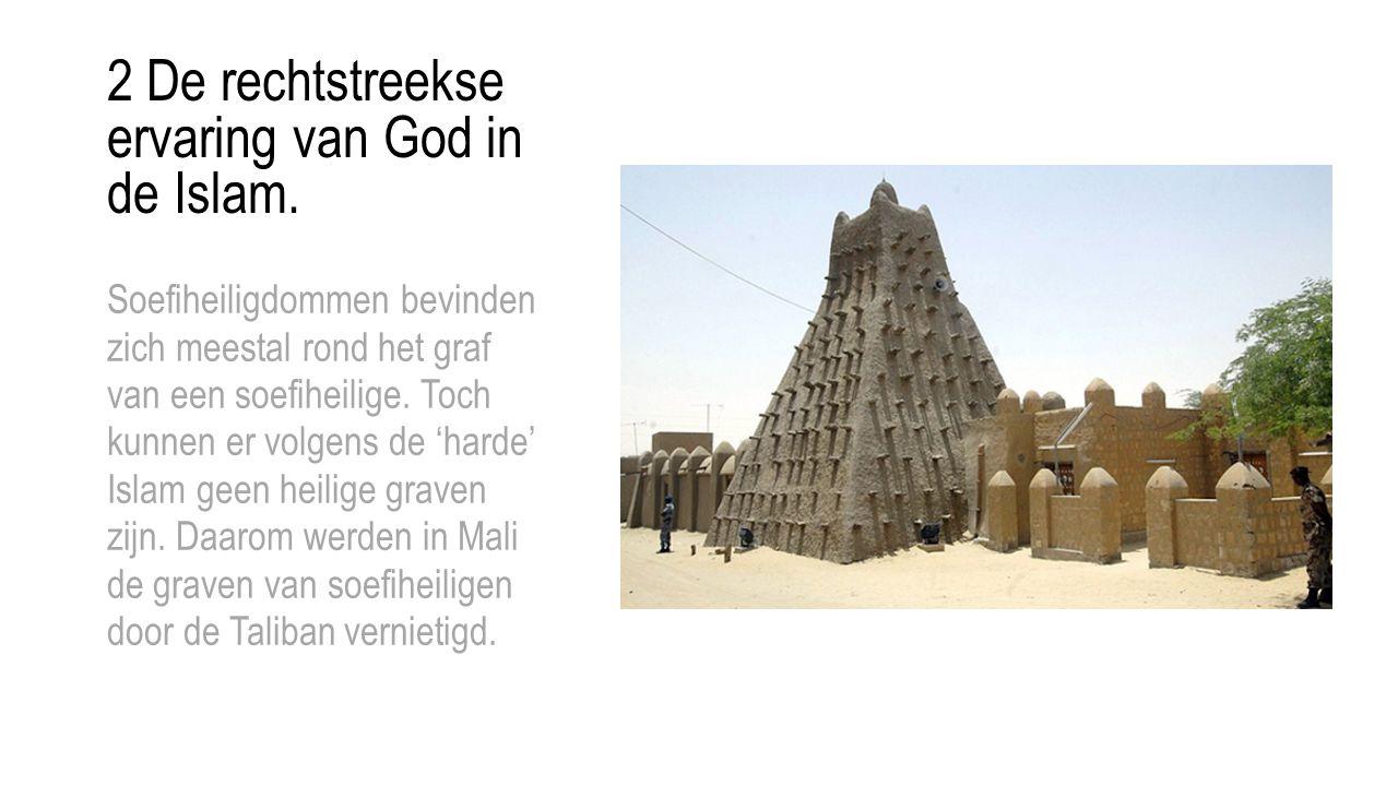 Soefiheiligdommen bevinden zich meestal rond het graf van een soefiheilige. Toch kunnen er volgens de 'harde' Islam geen heilige graven zijn. Daarom w