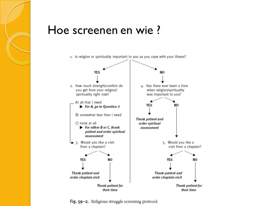 Hoe screenen en wie ?