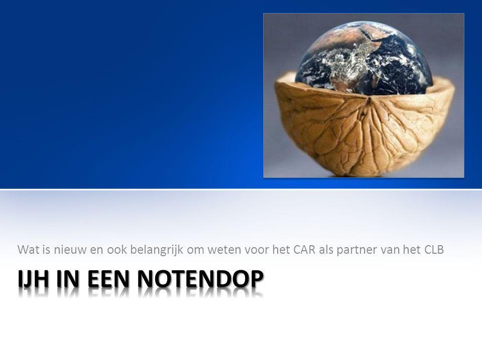 Wat is nieuw en ook belangrijk om weten voor het CAR als partner van het CLB