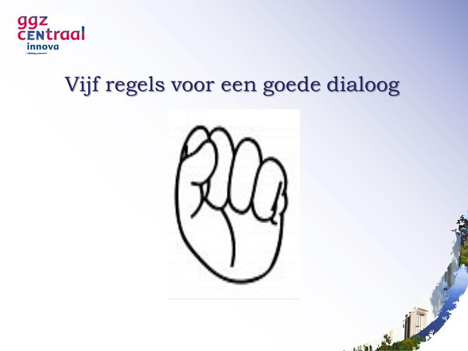 Vijf regels voor een goede dialoog