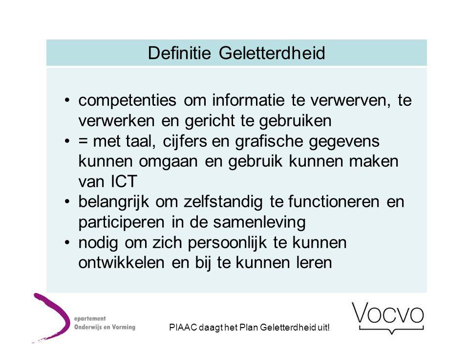 Stelling van Rein en Carine Elk beleidsdomein moet aandacht, acties en middelen voorzien om het geletterdheidsniveau van de doelgroepen met een geletterheidsrisico duurzaam te verhogen.