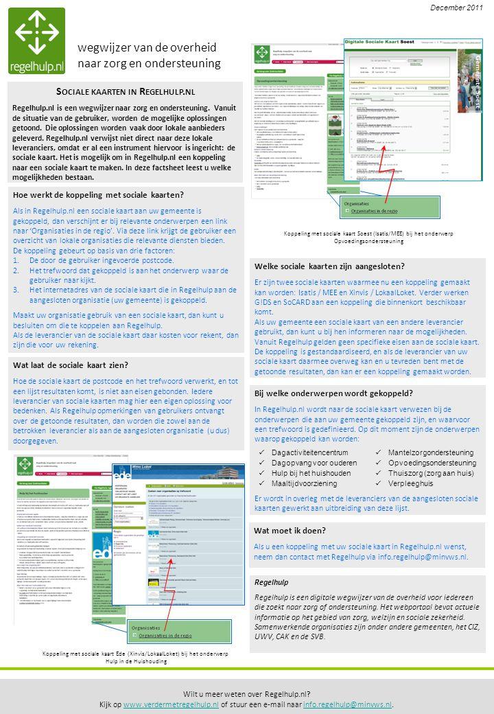 Wilt u meer weten over Regelhulp.nl.