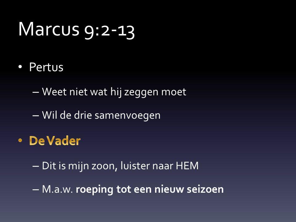 Marcus 9:2-13
