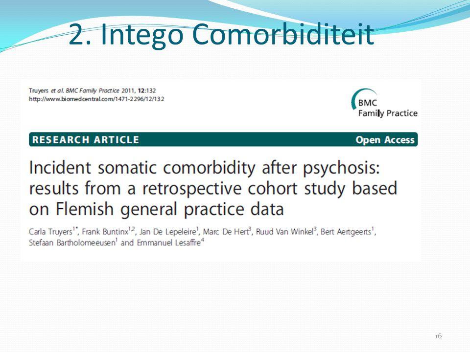 16 2. Intego Comorbiditeit