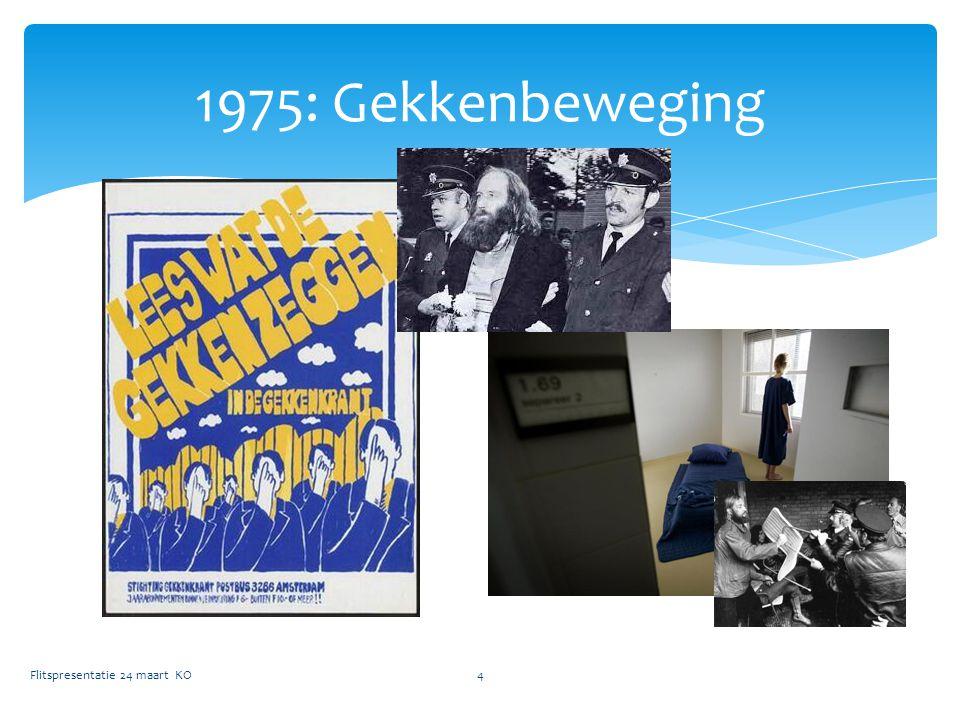 1975: Gekkenbeweging Flitspresentatie 24 maart KO4