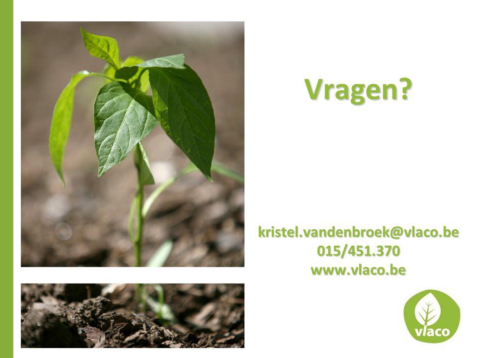 Vragen?kristel.vandenbroek@vlaco.be015/451.370www.vlaco.be