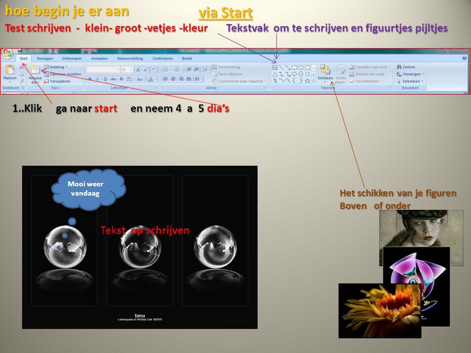 Kennis maken met Power Point Office 2007 stelt het u voor stap voor stap BCC Met muisklik