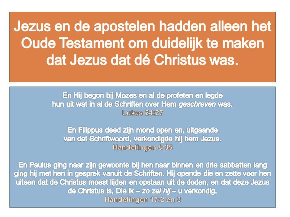 Gods oordeel ging over allen die niet in de ark waren.