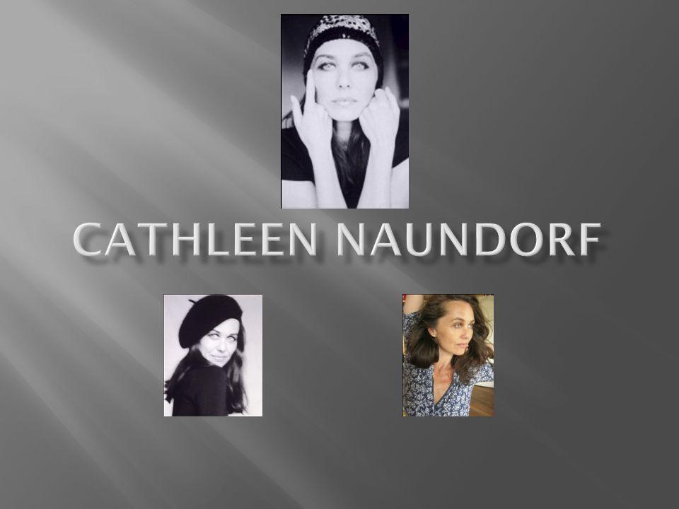 Cathleen Naundorf, geboren in Weissenfels an der Saale; Saksen- Anhalt in 1968.
