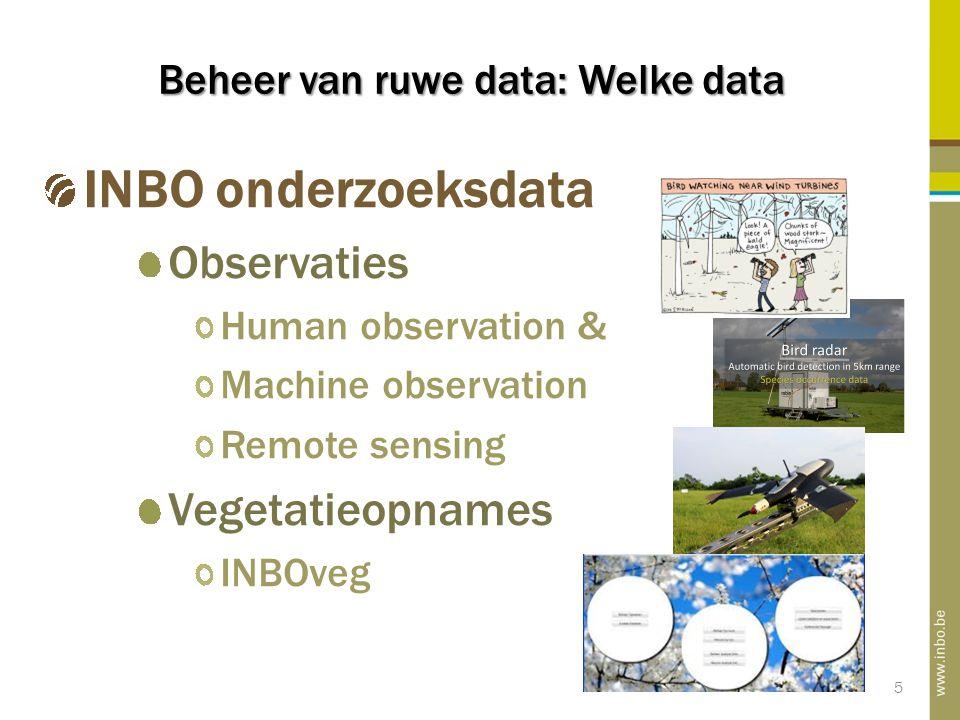 INBO als data Publisher INBO is data publisher in het GBIF netwerk Publiceren via ITP van Darwin Core Archives Ondersteuning door het Belgisch Biodiversiteitsplatform (GBIF node) • Belgische GBIF Data Publishers 16