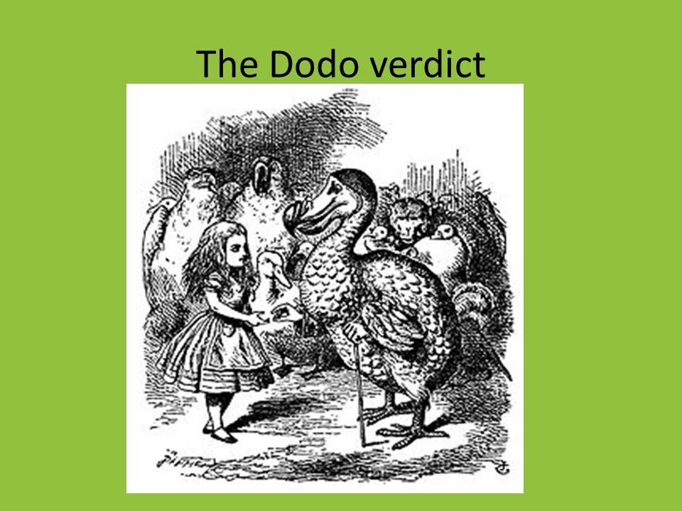The Dodo verdict