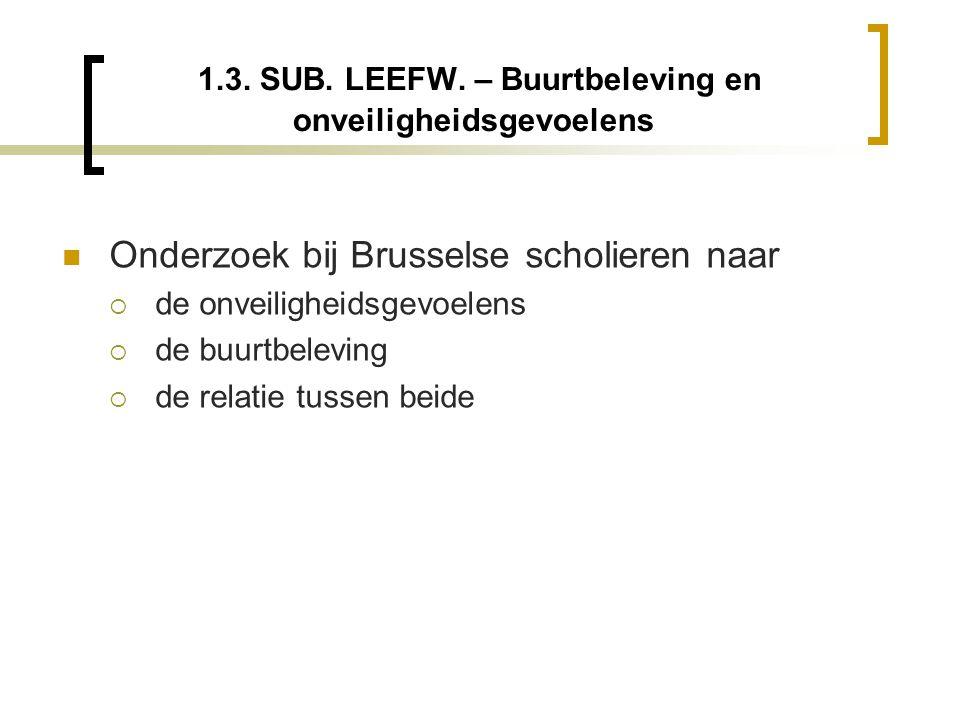 1.3. SUB. LEEFW.