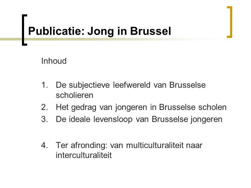 Publicatie: Jong in Brussel Inhoud 1.