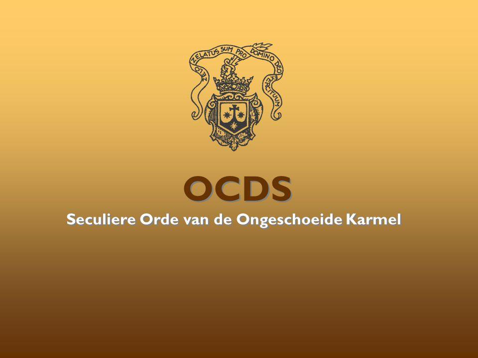 Seculiere Orde van de Ongeschoeide Karmel OCDS