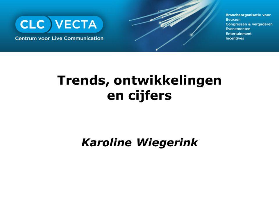 Trends, ontwikkelingen en cijfers Karoline Wiegerink