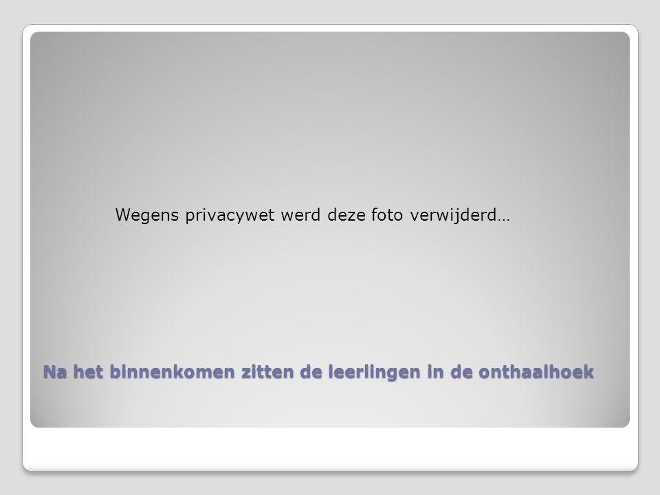 Het onthaalmoment Wegens privacywet werd dit filmpje verwijderd.