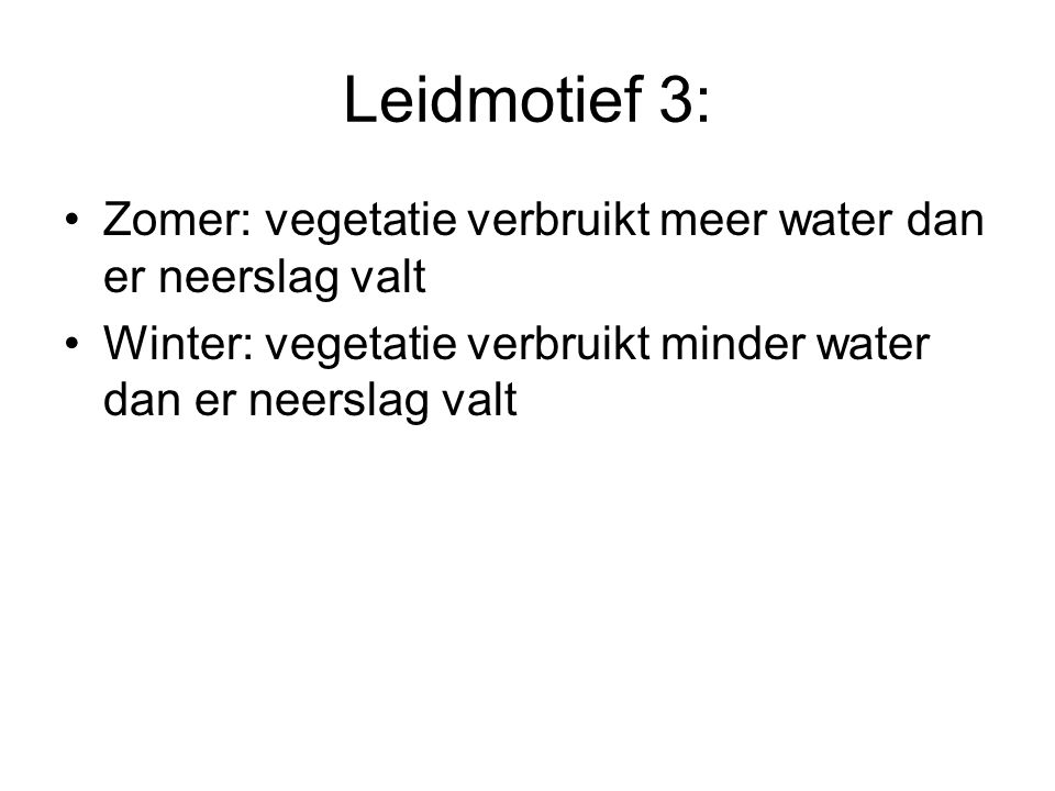 Hydrologische basisinfrastructuur •Sloten •Laantjes •Stuw •Sifon