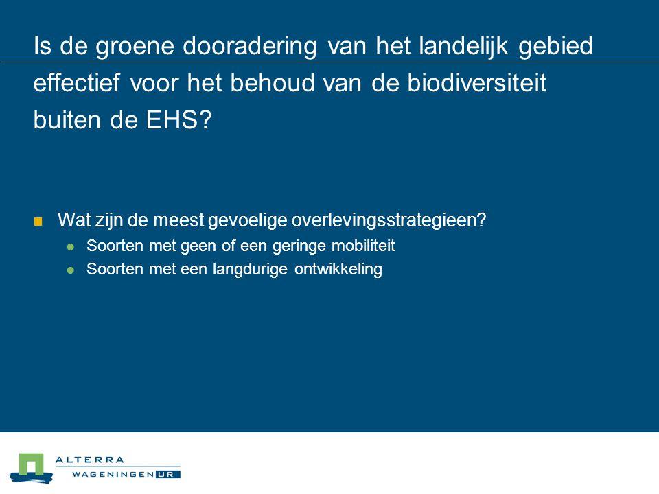 Algemene conclusies:  Intensivering van het grondgebruik staat op gespannen voet met het behoud van biodiversiteit in het landelijk gebied, zowel via het mechanisme van perceelsvergroting, als via frequentere bewerkingen  De internationale verdragen resulteren voor Nederland impliciet in een plafond van de landbouwproductie voor zover die grondgebonden is