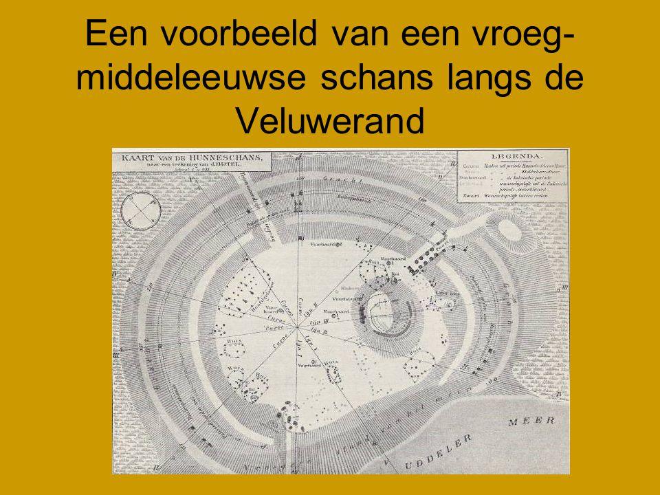 Een voorbeeld van een vroeg- middeleeuwse schans langs de Veluwerand