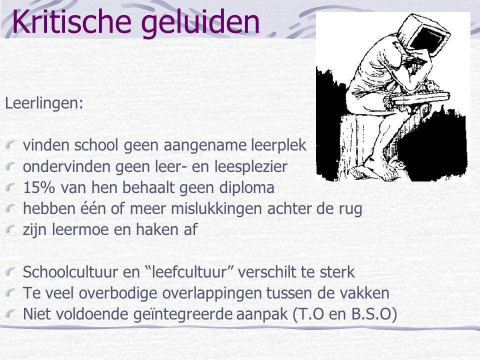 Achterliggende gedachte Vlaams onderwijs scoort internationaal goed maar… Goed in kennis en vaardigheden bij wiskunde, wetenschappen en taalbeheersing